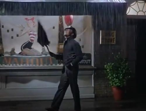 Ich möchte es mal mit Gene Kelly sagen: I'm Singing in the Rain…