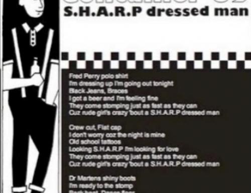 S.H.A.R.P dressed man